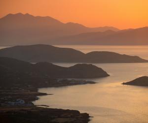 Mirabello at sunset